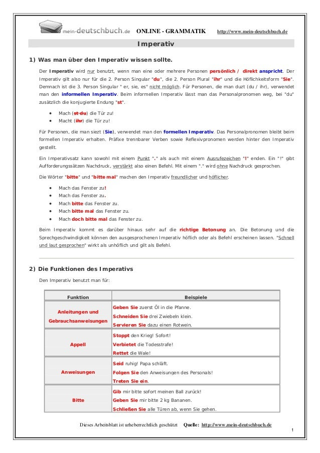 ONLINE - GRAMMATIK                    http://www.mein-deutschbuch.de                                                     I...