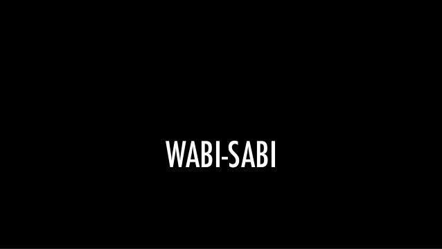 侘寂 WABI-SABI