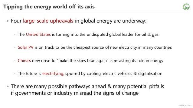 Global energy markets: today & tomorrow Slide 2