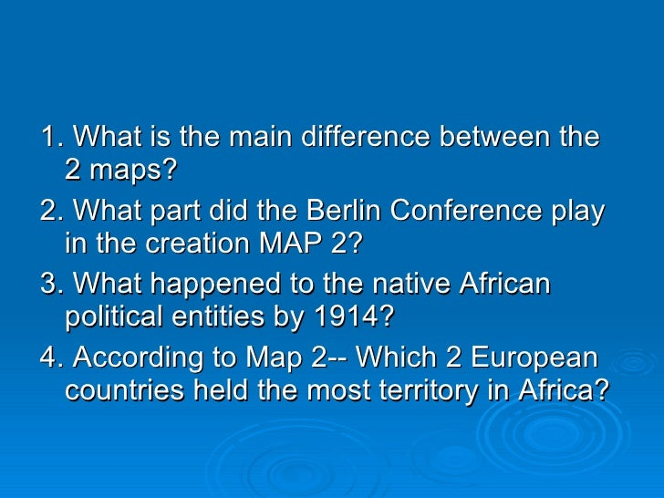 berlin conference 1884 definition