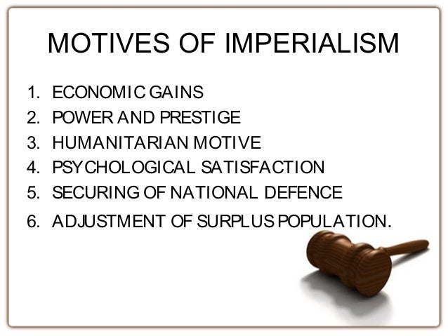 the purpose of imperialism The purpose of this translated volume tadeusz kowalik's book is to examine  rosa luxemburg's contribution to economic theory the essential subject-matter  is.