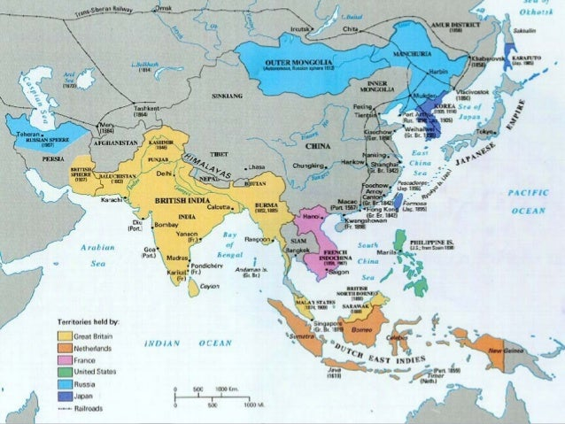 Map Of Asia 1914.Imperialism In Asia And Africa
