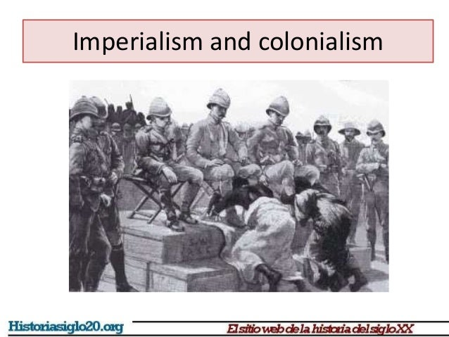 similarities between colonialism and imperialism