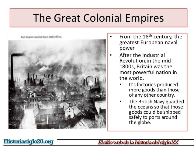 imperialism colonialism and industrial revolution Title: the industrial revolution and british imperialism, 1750-1850 created date: 20160807035954z.