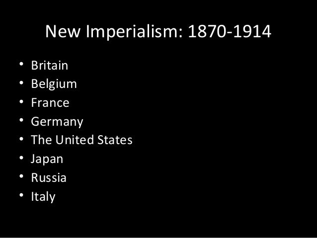 the factors that brought the concept of imperialism in the united states Outside the united states, the effects of manifest destiny were being seen in us intervention in the spanish-american war when spain ceded the philippine islands, puerto rico and guam to the us this was an expansion of us territory as colonies rather than states and was another demonstration of growing us imperialism.