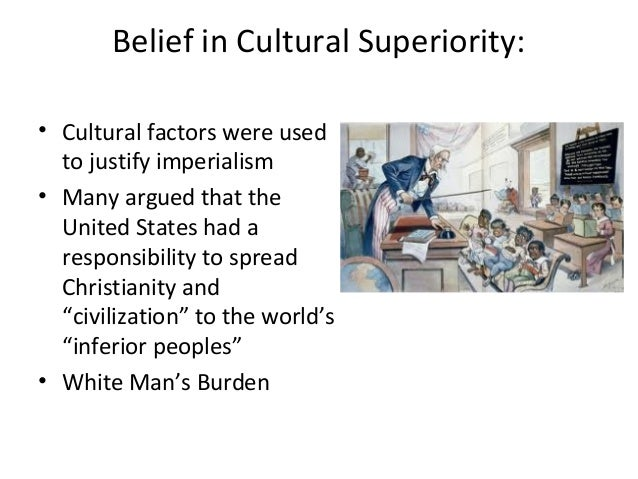 what is cultural superiority