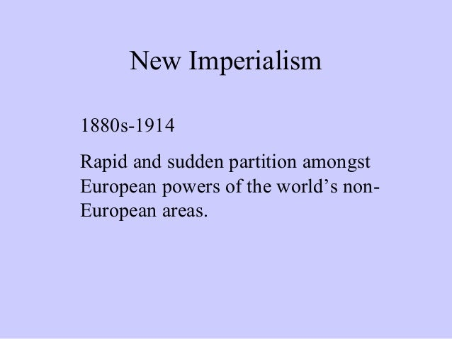 growth and imperialism This lesson will explore european imperialism in the 19th and 20th centuries in doing this it will define new imperialism and explain how economic growth, national.