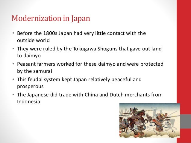 What effect did Western Imperialism have on Japan?