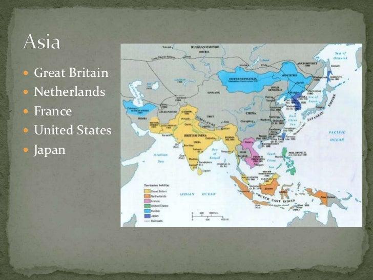 imperialism and colonization Chapter study outline introduction britain, france, egypt, and the suez canal technology, money, and politics western superiority imperialism.