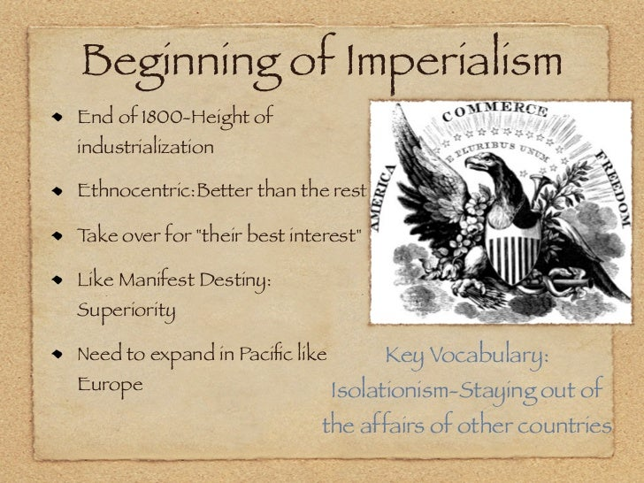 Imperialism and WW1