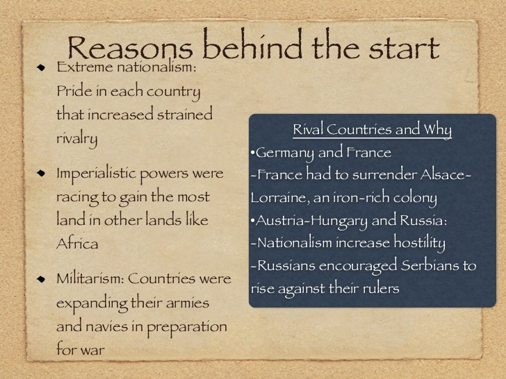 """the reasons behind colonization Typical reasons for colonization are to steal natural resources, expand territories and culturally dominate a group of people who are distinguishable by race and/or religion although hollywood films like """"out of africa"""" (1985) romanticize colonization as a system for which all participants ."""