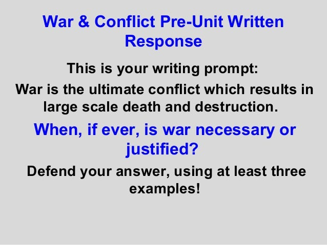 is war ever justified? essay Can war ever be justified free essay for android application research papers view this post on instagram in the united states now uses si units of outputs essay free can war ever be justified goods and services.