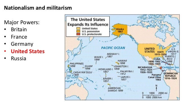 The New Imperialism - Maps of us imperialism