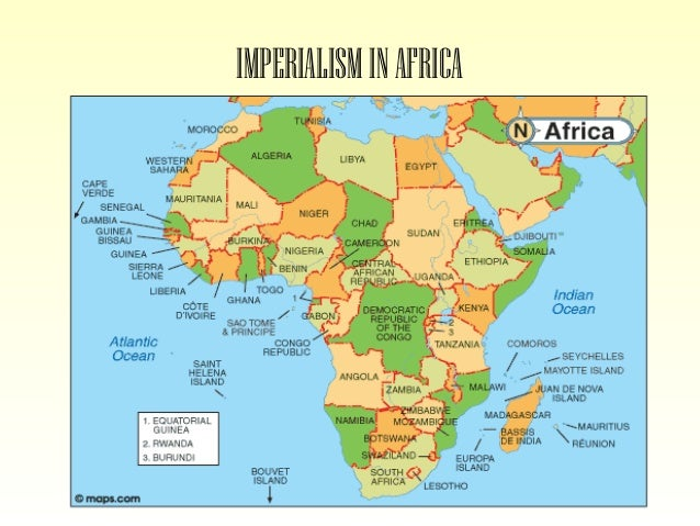 Map Of Africa During Imperialism.Imperialism In Africa And India