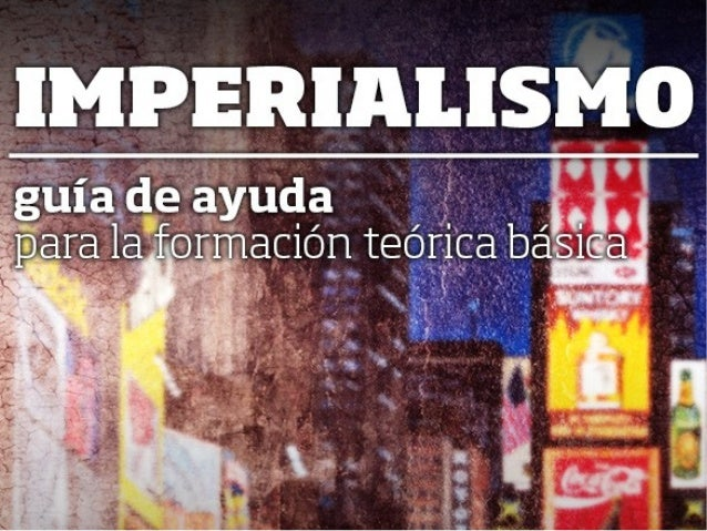 """1. Preguntas previas para la reflexión. - ¿A quenossuenaeso del """"Imperialismo""""? - ¿Qué quiere decir """"el imperialismo es la..."""