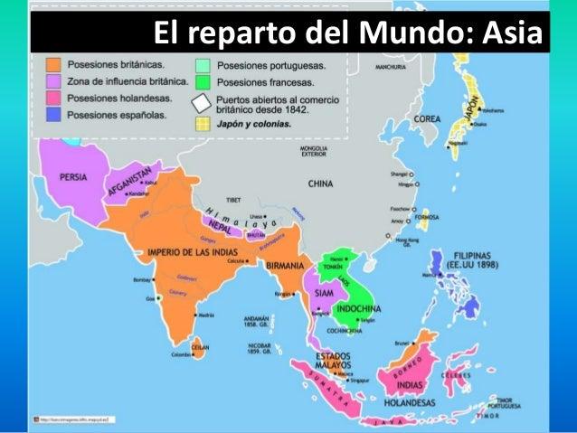 ¿Hacia un nuevo equilibrio mundial? a) ¿En qué regiones del mundo se presenta principalmente la carrera imperialista? b) S...