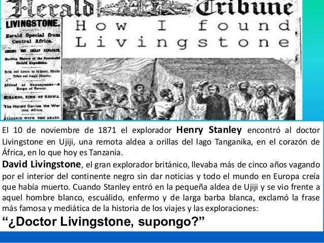 David Livingstone nacido el 19 de marzo de 1813 en Blantyre, Glasgow, Escocia. Fue segundo hijo de un humilde comerciante ...