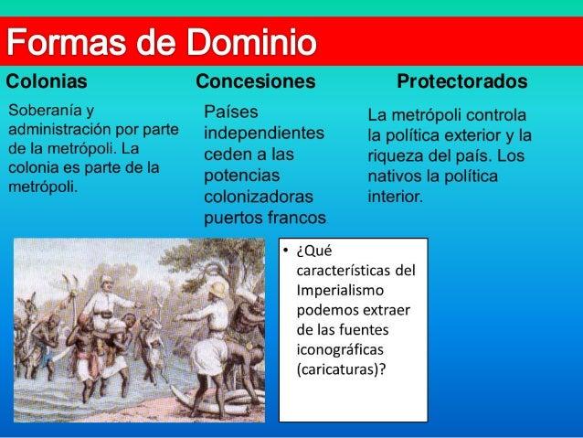 Los imperios coloniales y la repartición del mundo