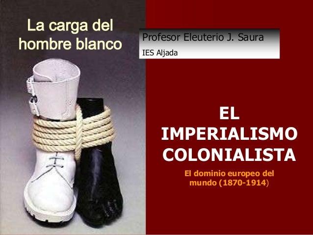 La carga del Profesor Eleuterio J. Saurahombre blanco IES Aljada EL ...