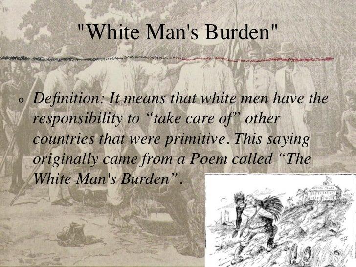 the white mans burden stanza analysis