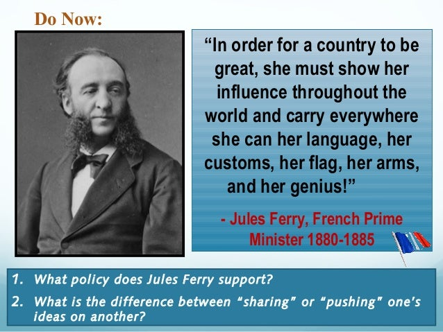 jules ferry arguments for french imperialism