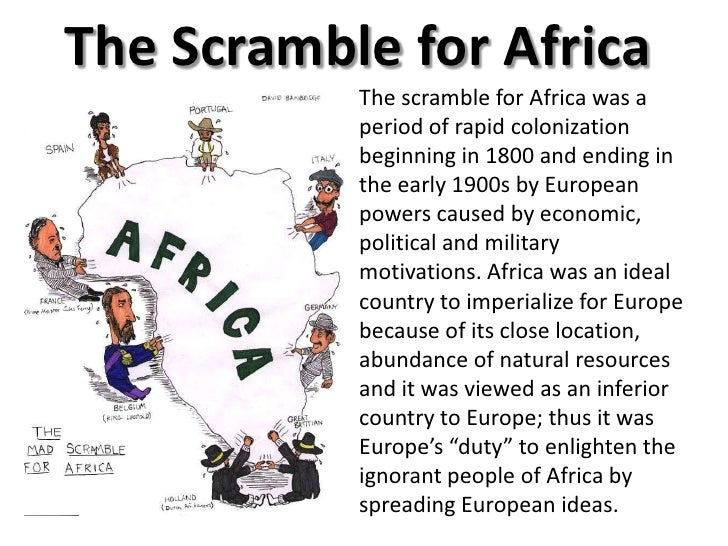 Mad Political Cartoon >> Imperialization of sub saharan africa