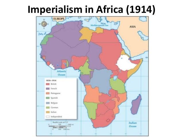 Imperialism in Africa (1914)