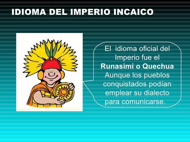Imperio incaico primaria ie n 1198 la ribera aula de - Escuela oficial de idiomas inca ...