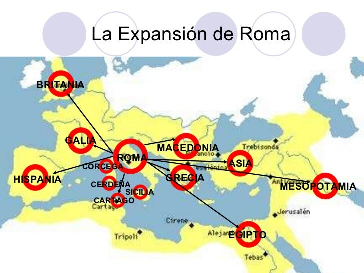 Resultado de imagen para expansion romana