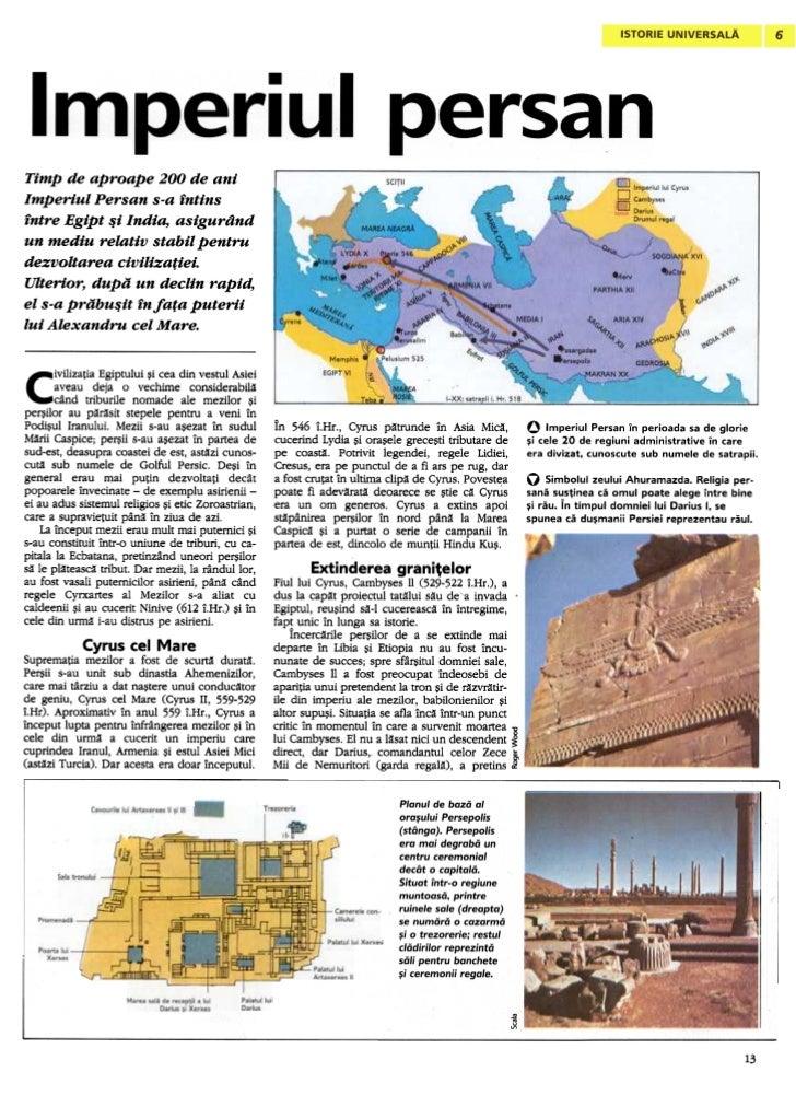 Timp de aproape 200 de aniImperiul Persan s-a intinsintre Egipt -5i India, asigurdndun mediu relativ stabil pentrudezvolta...