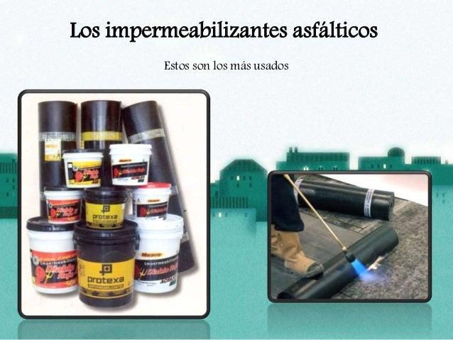 Impermeabilizaci n definici n y tipos - Tipos de impermeabilizacion ...