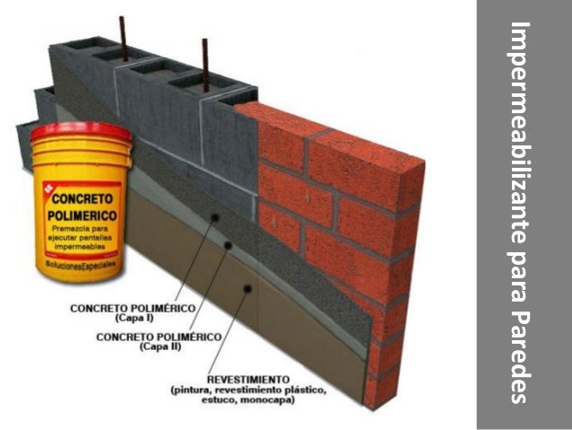 Impermeabilizantes - Impermeabilizar paredes interiores ...