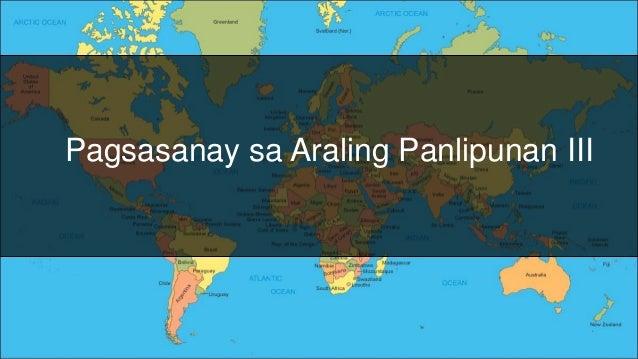 Pagsasanay sa Araling Panlipunan III