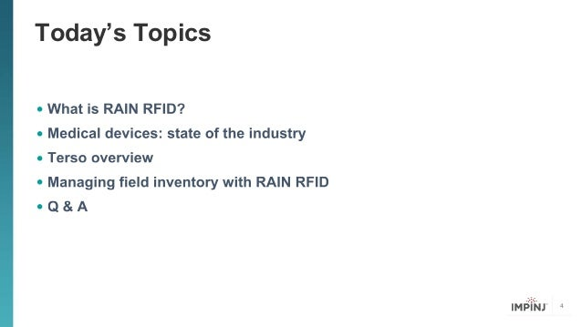 rfid in the medical field essay Tag approved for use in humans for a medical application  as an antenna and uses an rfid reader's varying magnetic field to power the microchip and transmit a .