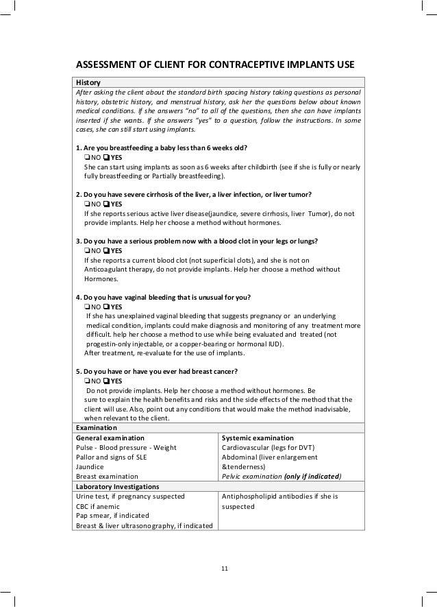 Implanon guideline 2017