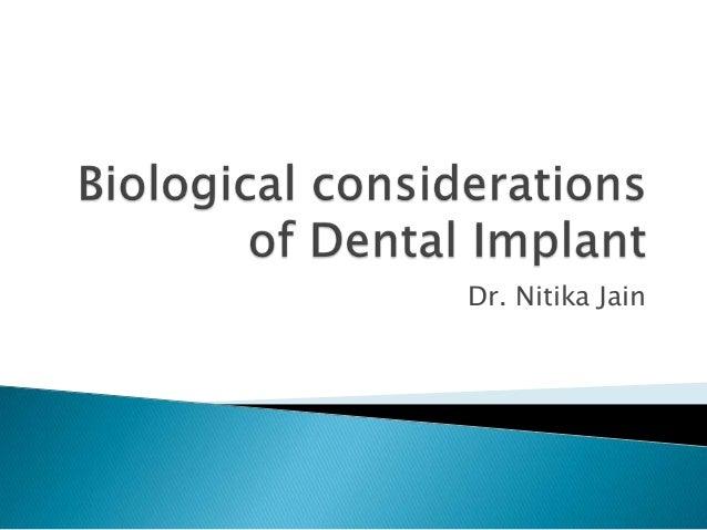 Dr. Nitika Jain