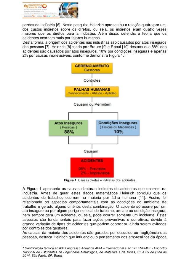 Implantação da Pirâmide de Heinrich na Prevenção de Acidentes em uma Indústria Automotiva Slide 3