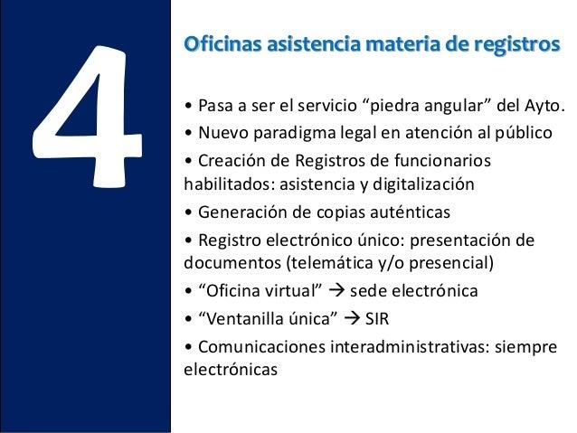 Las 10 cosas que debes saber para implantar la ley 39 2015 for Oficina de asistencia en materia de registros