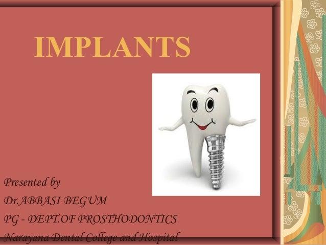 Implant classification Slide 2