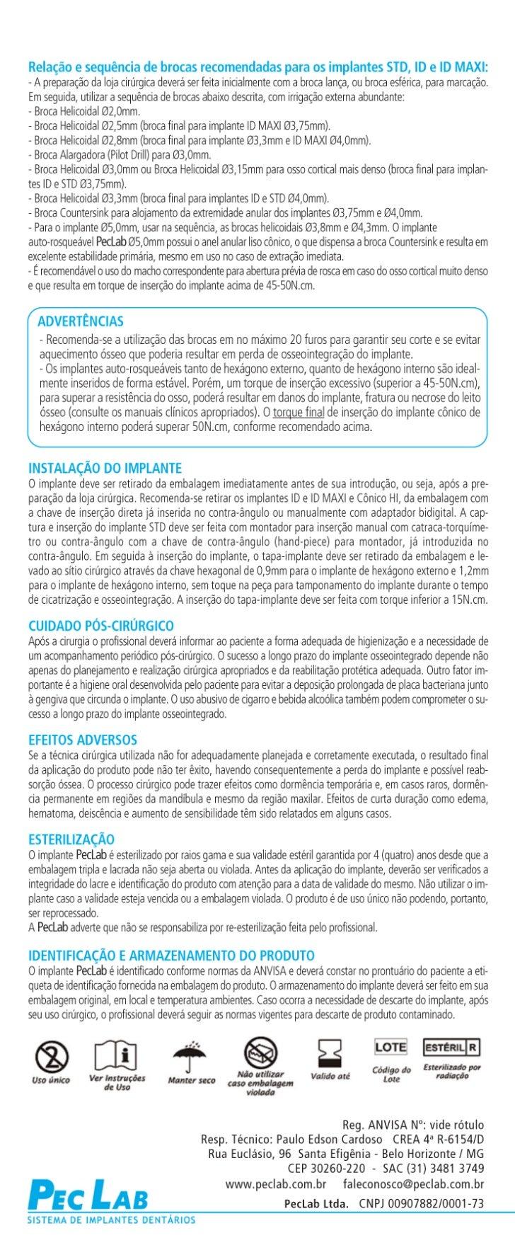 Implantes Autorosqueaveis Id e Standard pag 2