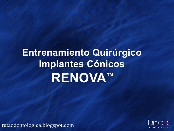 Implantes lifecore