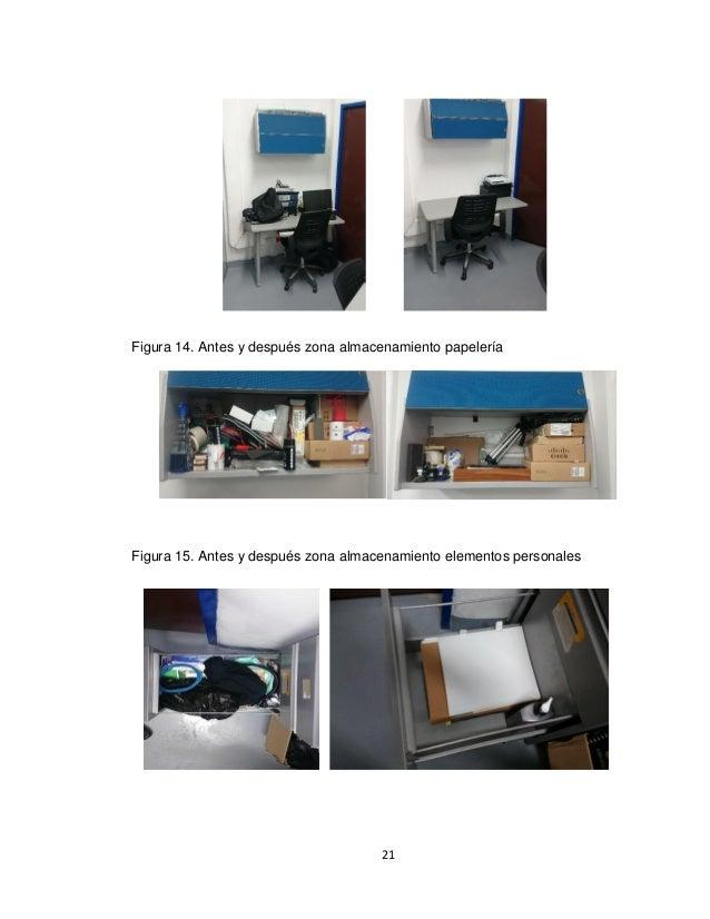 como implementar 5s en una oficina de sistemas