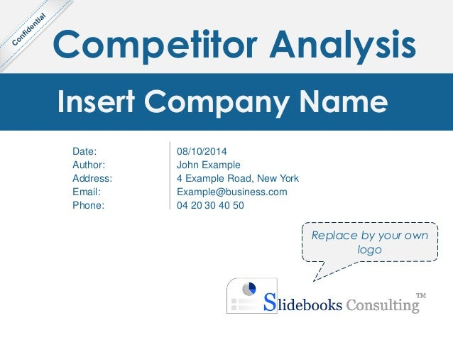 competitor analysis templates
