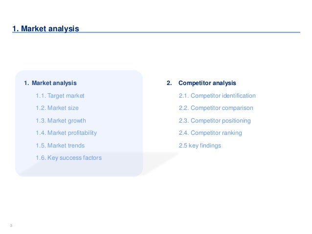 competitor analysis template by ex mckinsey consultants