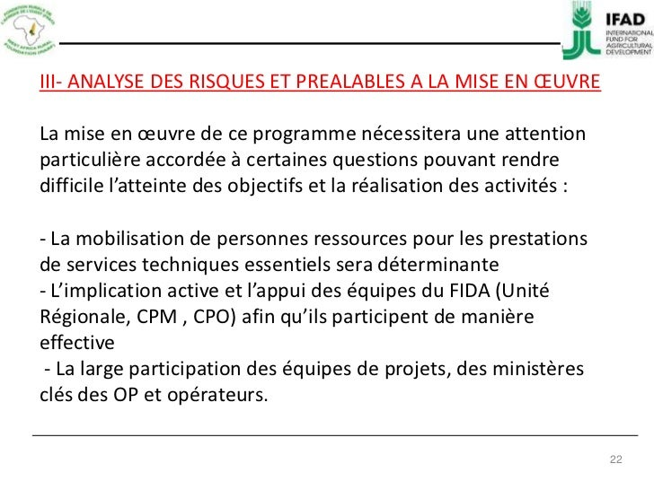 Plan de mise en oeuvre du prcg2 for Mise en oeuvre beton cire