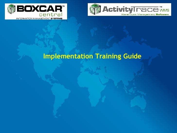 Implementation Training Guide