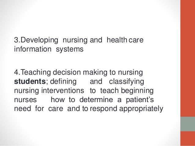 nursing knowledge through nursing process Nursing knowledge through the nursing process nur 403 professor kimberly frommel a collaborative presentation by: bj bossert alvin ibalio kimberly phillips.