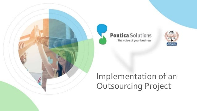 Implementation of an Outsourcing Project