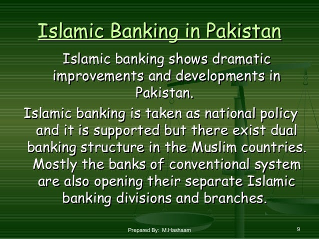 thesis on islamic banking in pakistan In islamic banking, in case of losses suffered, the bank will share the losses depending on the financial instrument used under the system of conventional banking, no agreement is made to allow for the exchange of services when dealing with the disbursement of cash finance, working capital finance or running finance.