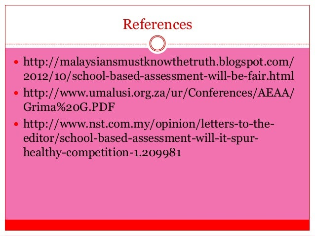 school based assessment for learning Revised school-based management  school assessment school assessment processes teaching and learning are determinedassessment processes are.